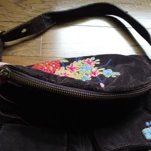 Lucky Brand Bags - Lucky Brand Brown Suede Purse